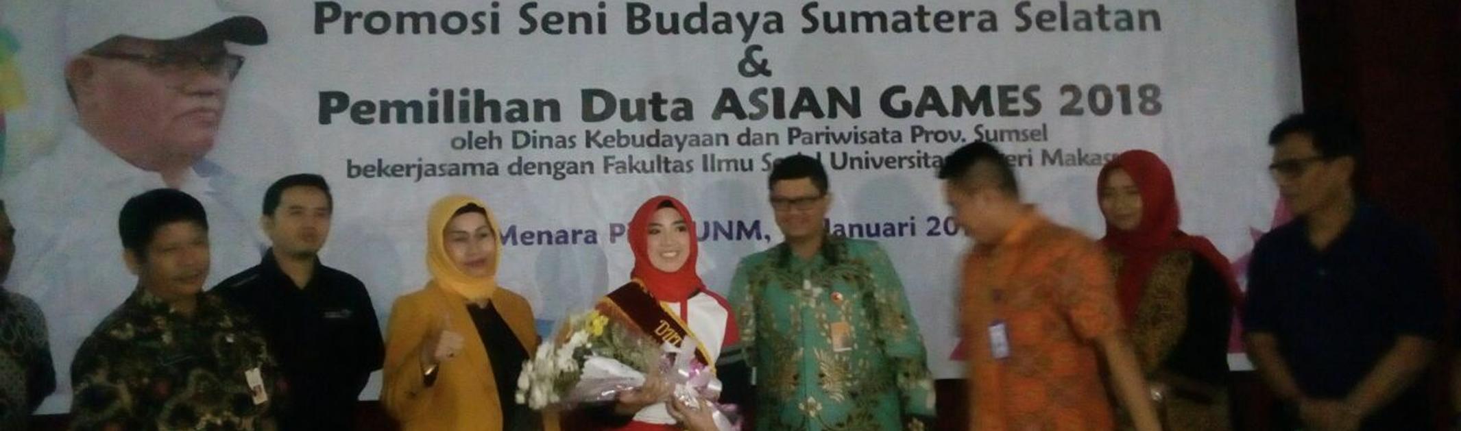 Mahasiswa Jurusan AP FIP UNM jadi Duta Asean Games 2018
